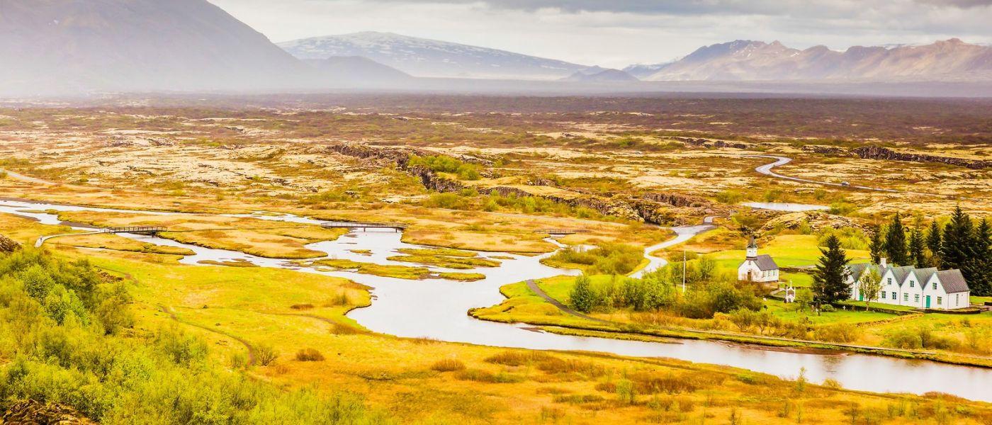 冰岛辛格韦德利,三大国家公园之一_图1-21