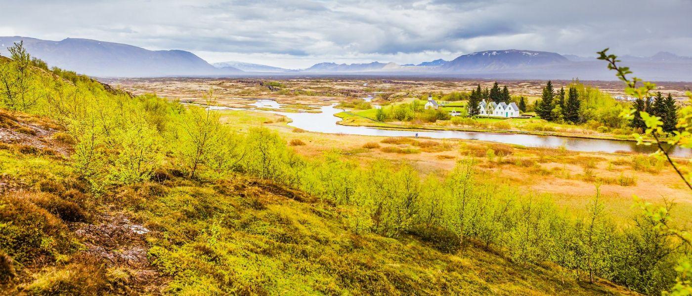 冰岛辛格韦德利,三大国家公园之一_图1-25