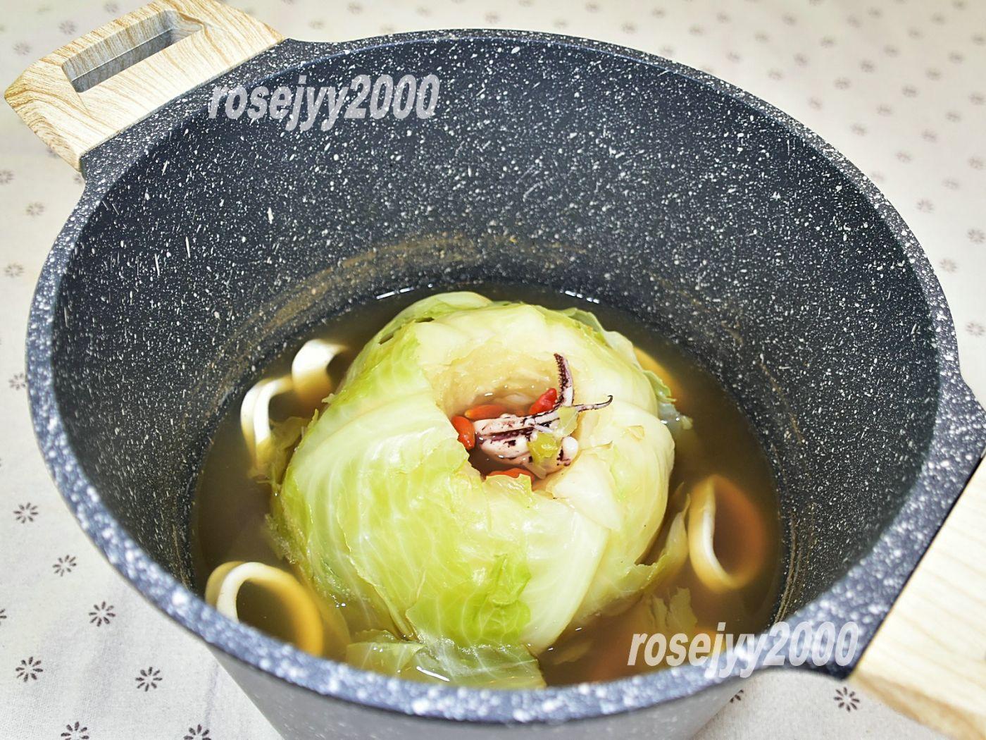 椰菜海鲜汤_图1-1