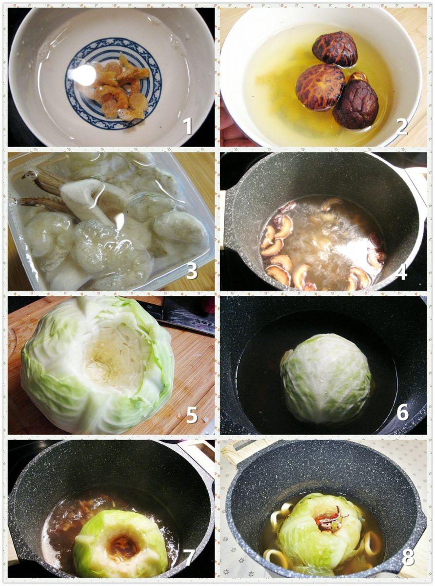 椰菜海鲜汤_图1-2