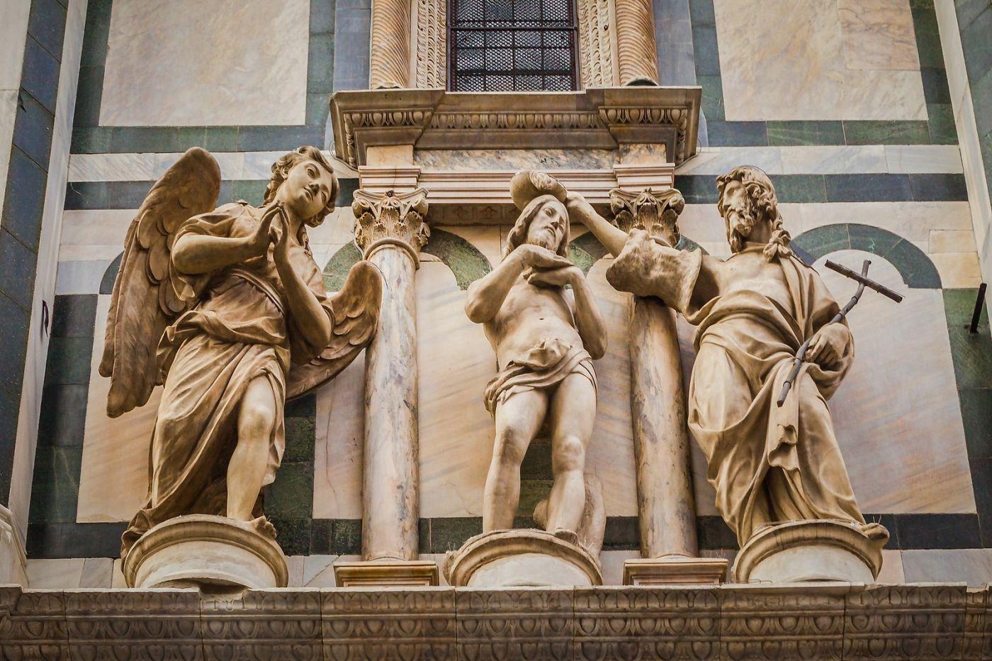 意大利佛罗伦斯主教堂,外饰登峰造极_图1-19