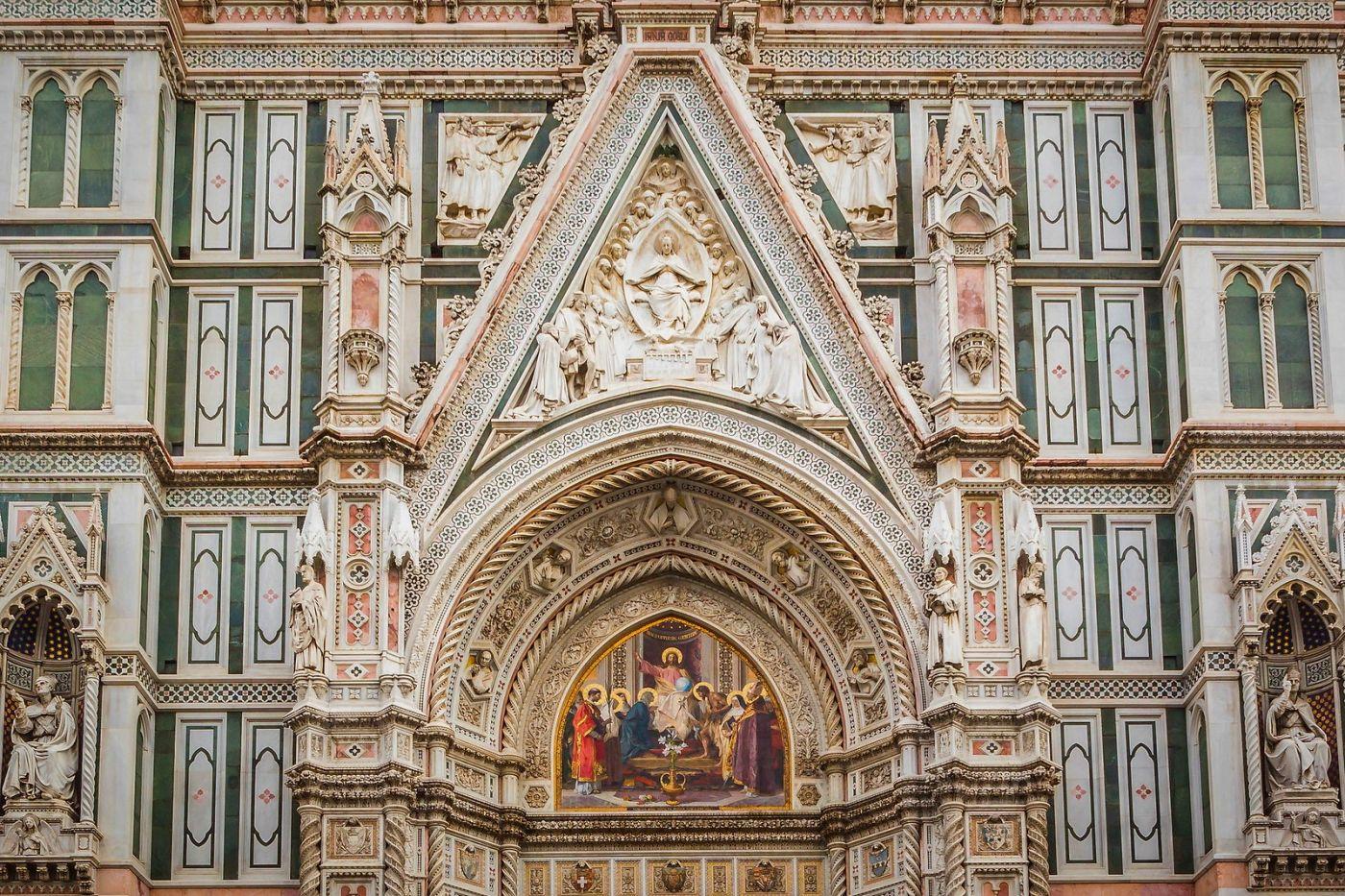 意大利佛罗伦斯主教堂,外饰登峰造极_图1-23