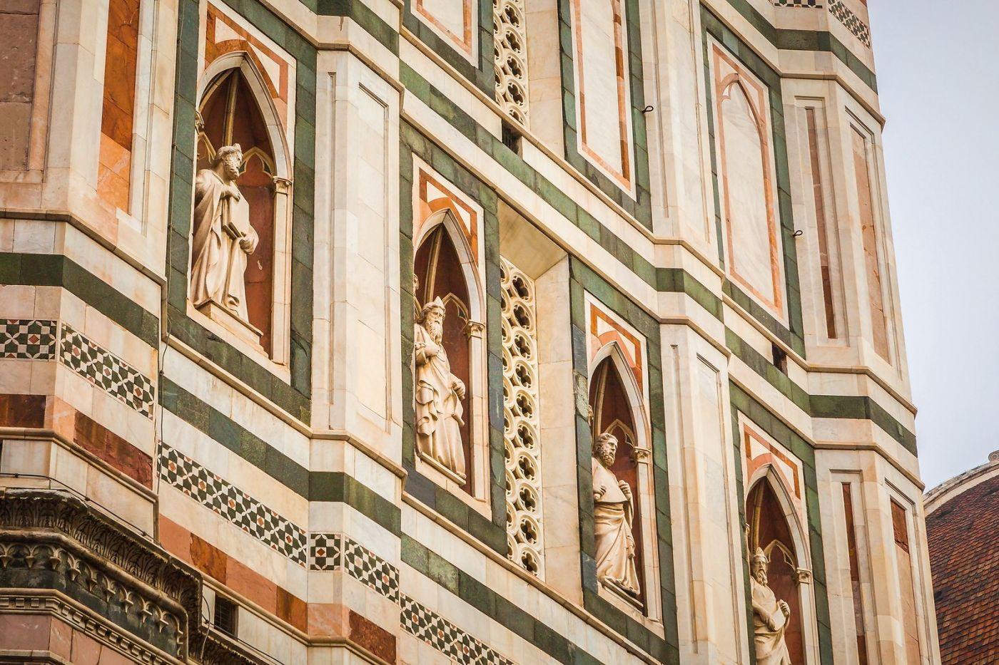 意大利佛罗伦斯主教堂,外饰登峰造极_图1-30