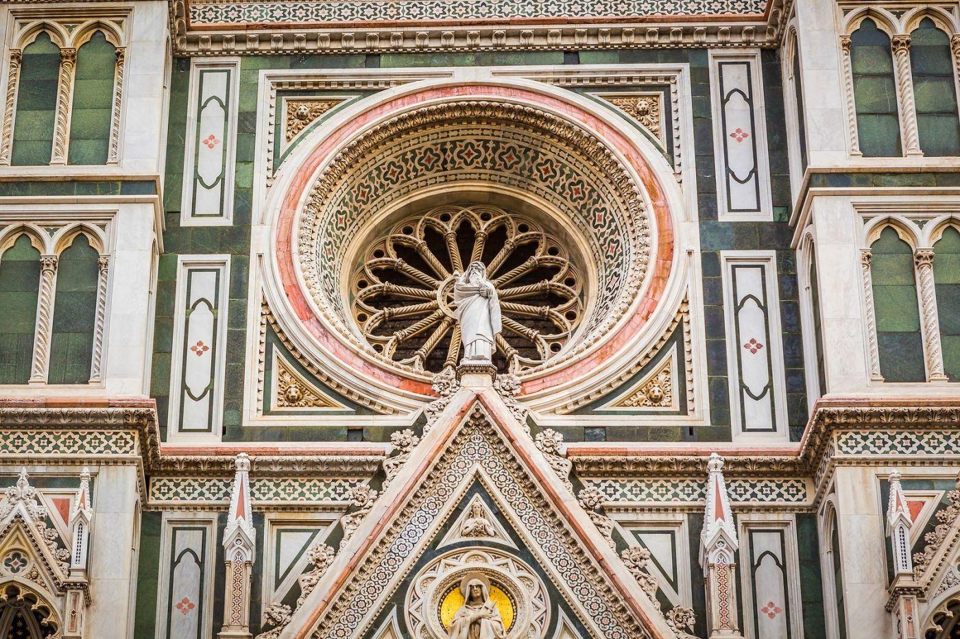 意大利佛罗伦斯主教堂,外饰登峰造极_图1-3