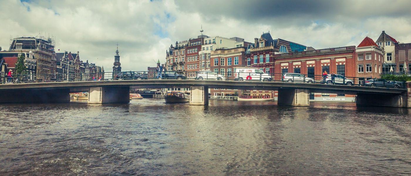 荷兰阿姆斯特丹,四通八达的城中河_图1-27