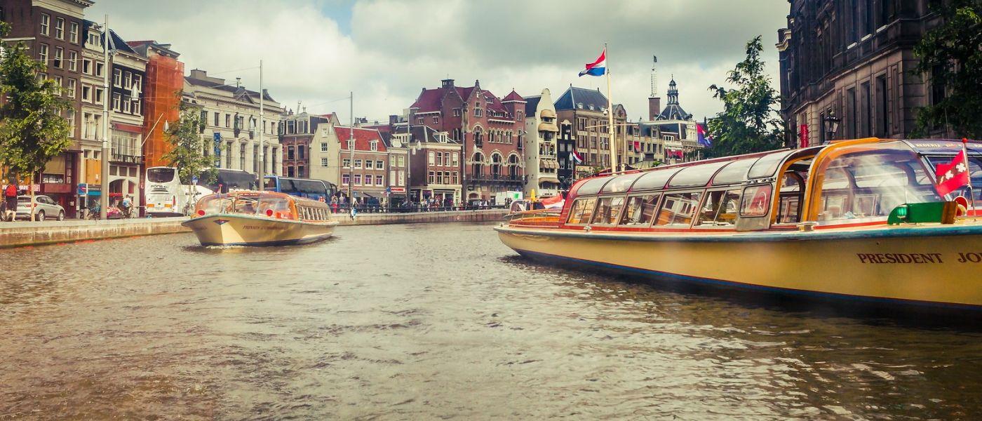 荷兰阿姆斯特丹,四通八达的城中河_图1-29