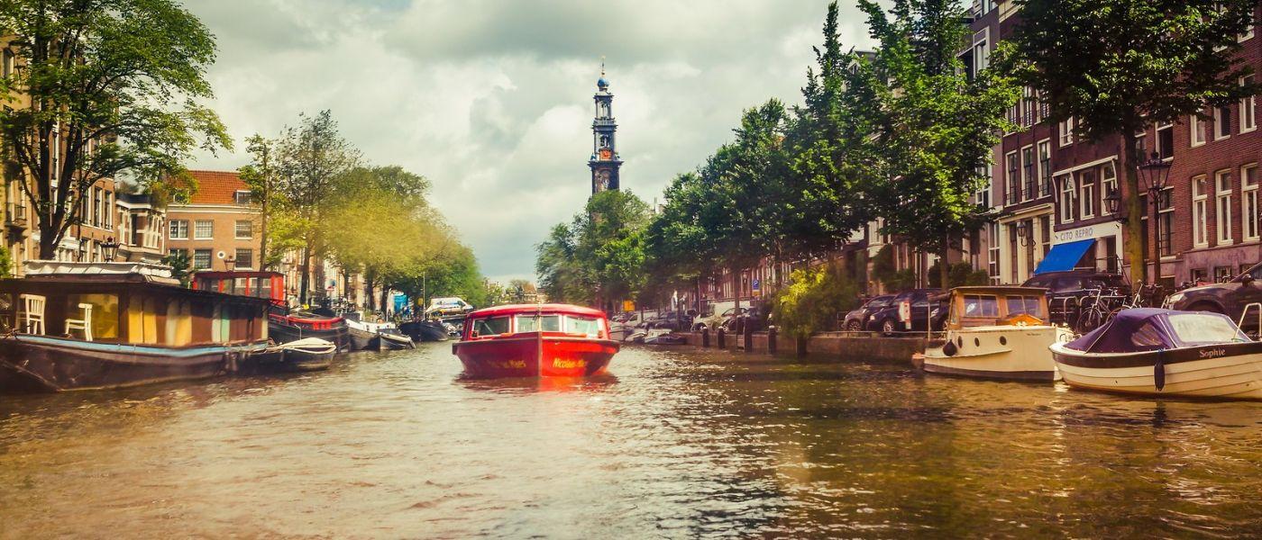 荷兰阿姆斯特丹,四通八达的城中河_图1-23