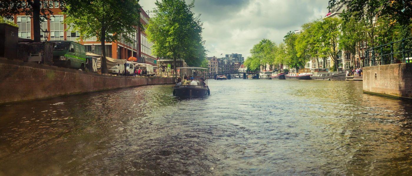 荷兰阿姆斯特丹,四通八达的城中河_图1-26