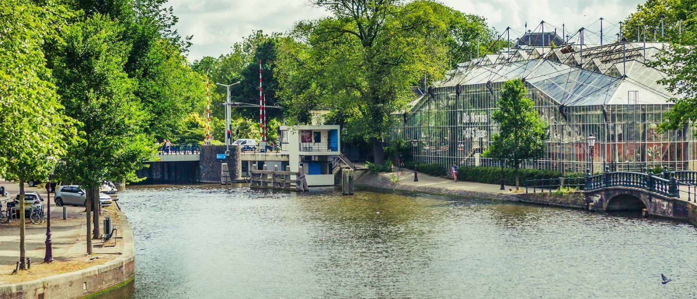荷兰阿姆斯特丹,四通八达的城中河_图1-22