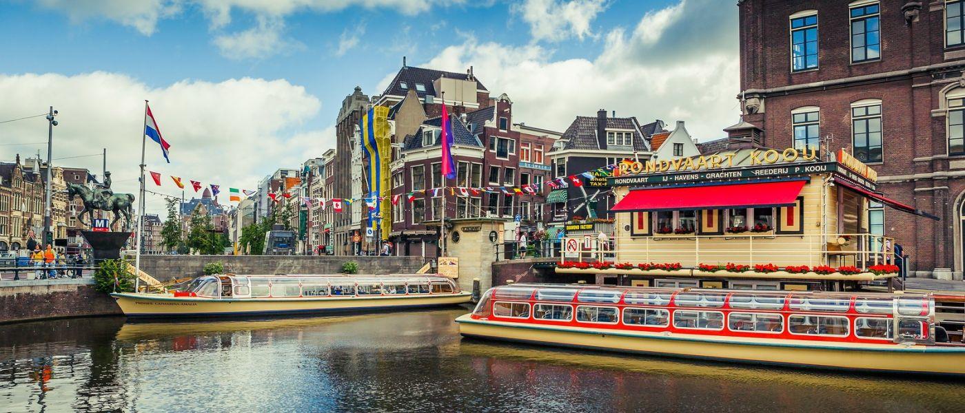 荷兰阿姆斯特丹,四通八达的城中河_图1-18
