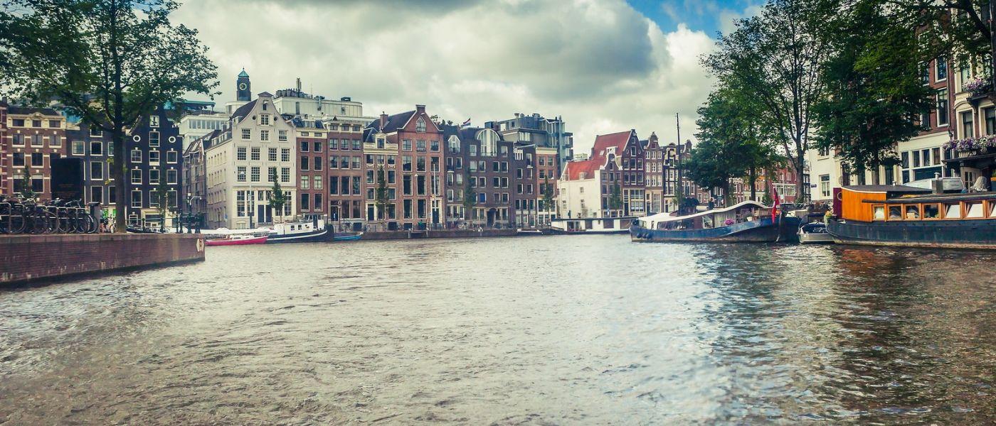 荷兰阿姆斯特丹,四通八达的城中河_图1-16