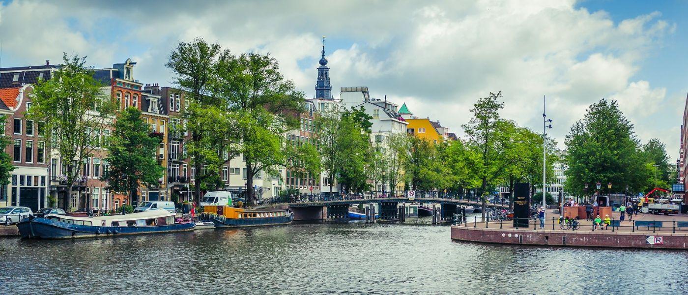 荷兰阿姆斯特丹,四通八达的城中河_图1-1