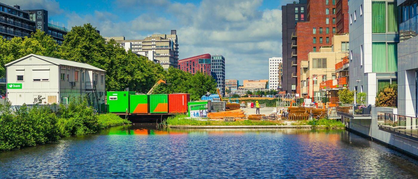 荷兰阿姆斯特丹,四通八达的城中河_图1-5