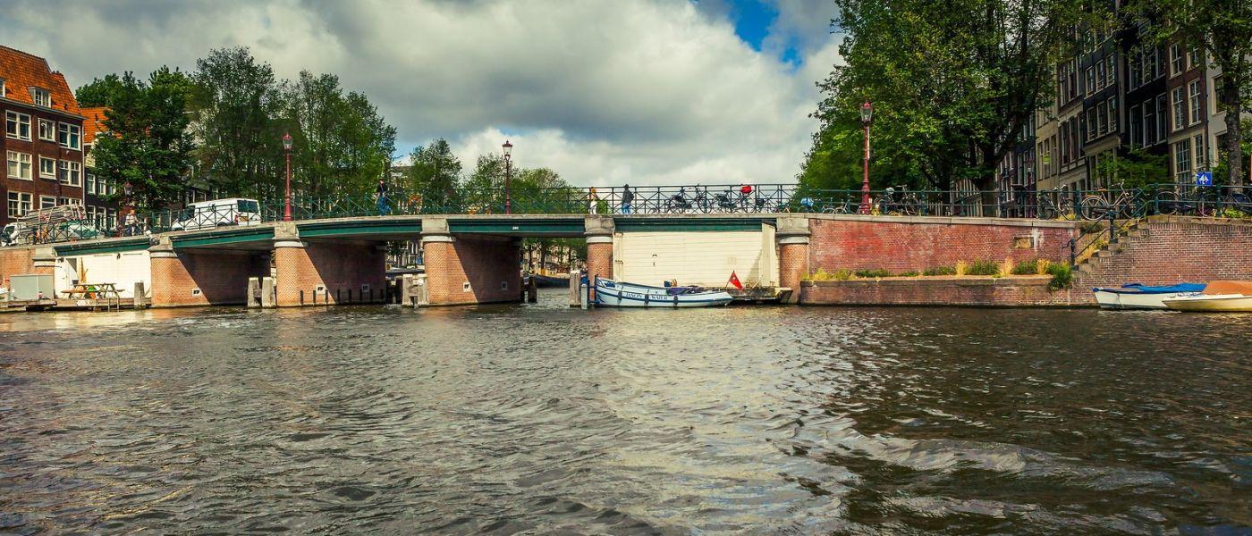 荷兰阿姆斯特丹,四通八达的城中河_图1-6