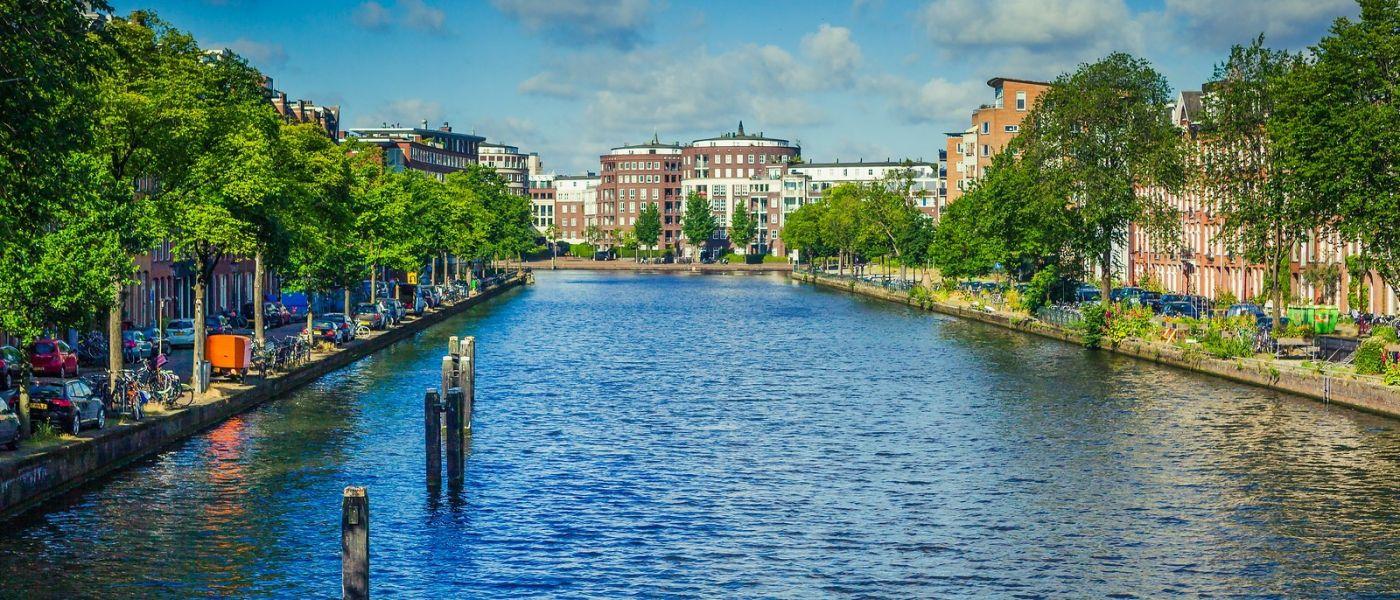 荷兰阿姆斯特丹,四通八达的城中河_图1-12