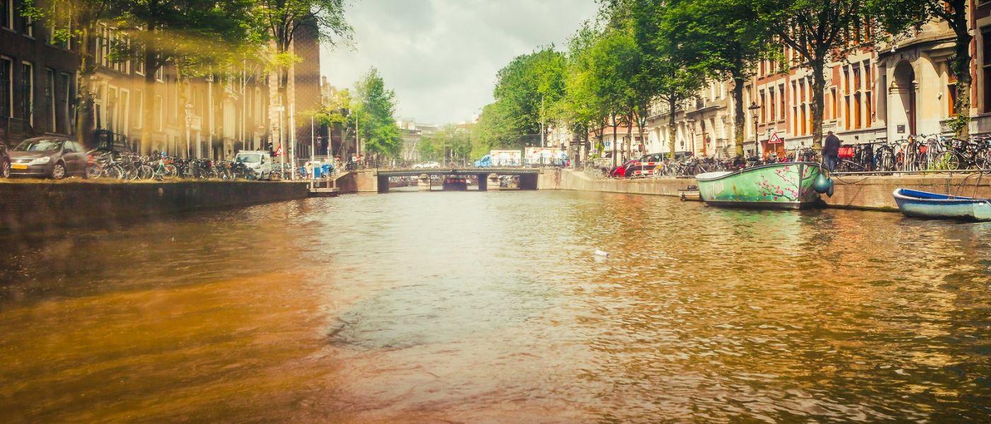 荷兰阿姆斯特丹,四通八达的城中河_图1-11
