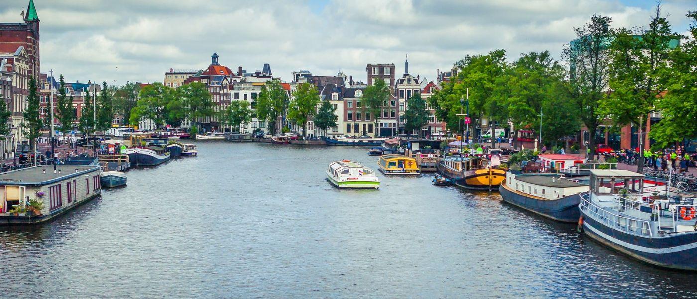 荷兰阿姆斯特丹,四通八达的城中河_图1-10