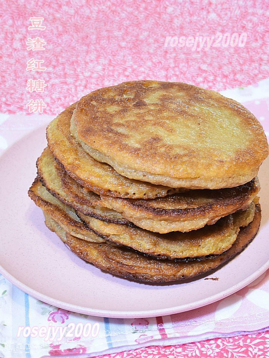 豆渣红糖饼_图1-3