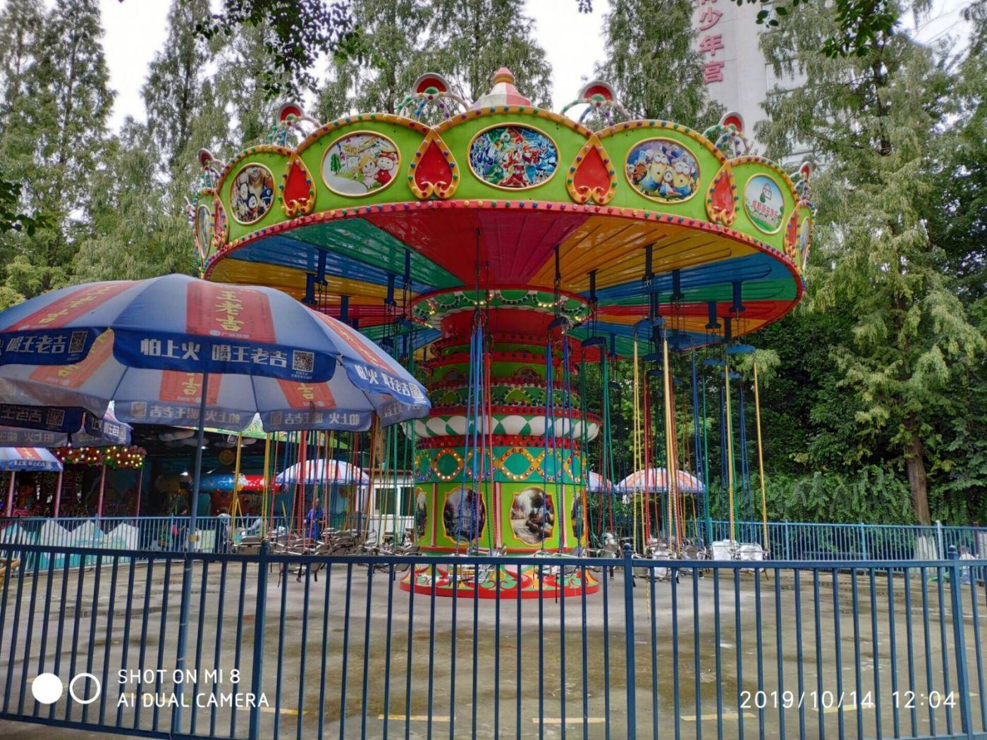 今天,被记者骗到人民公园看芙蓉花_图1-12
