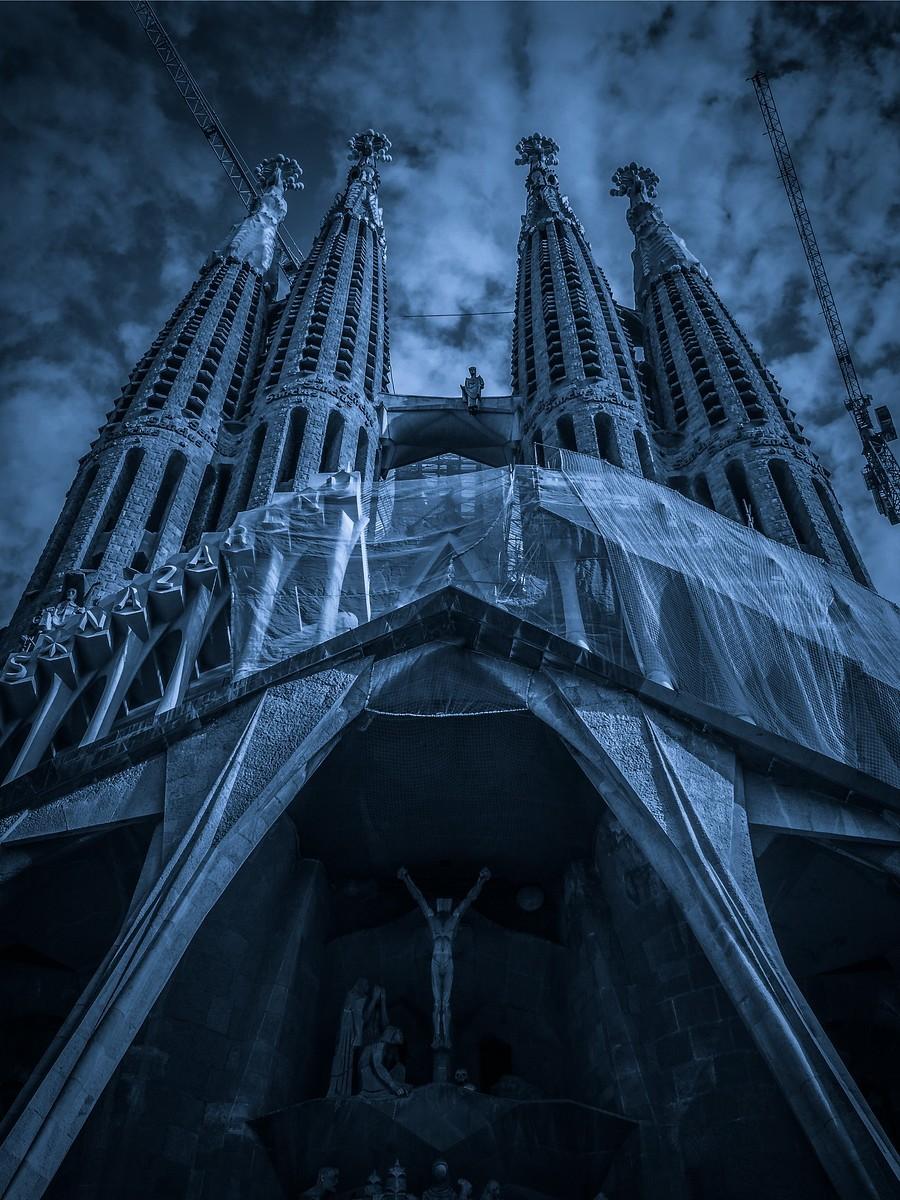 西班牙圣家堂(Sagrada Família), 创新无边界_图1-8