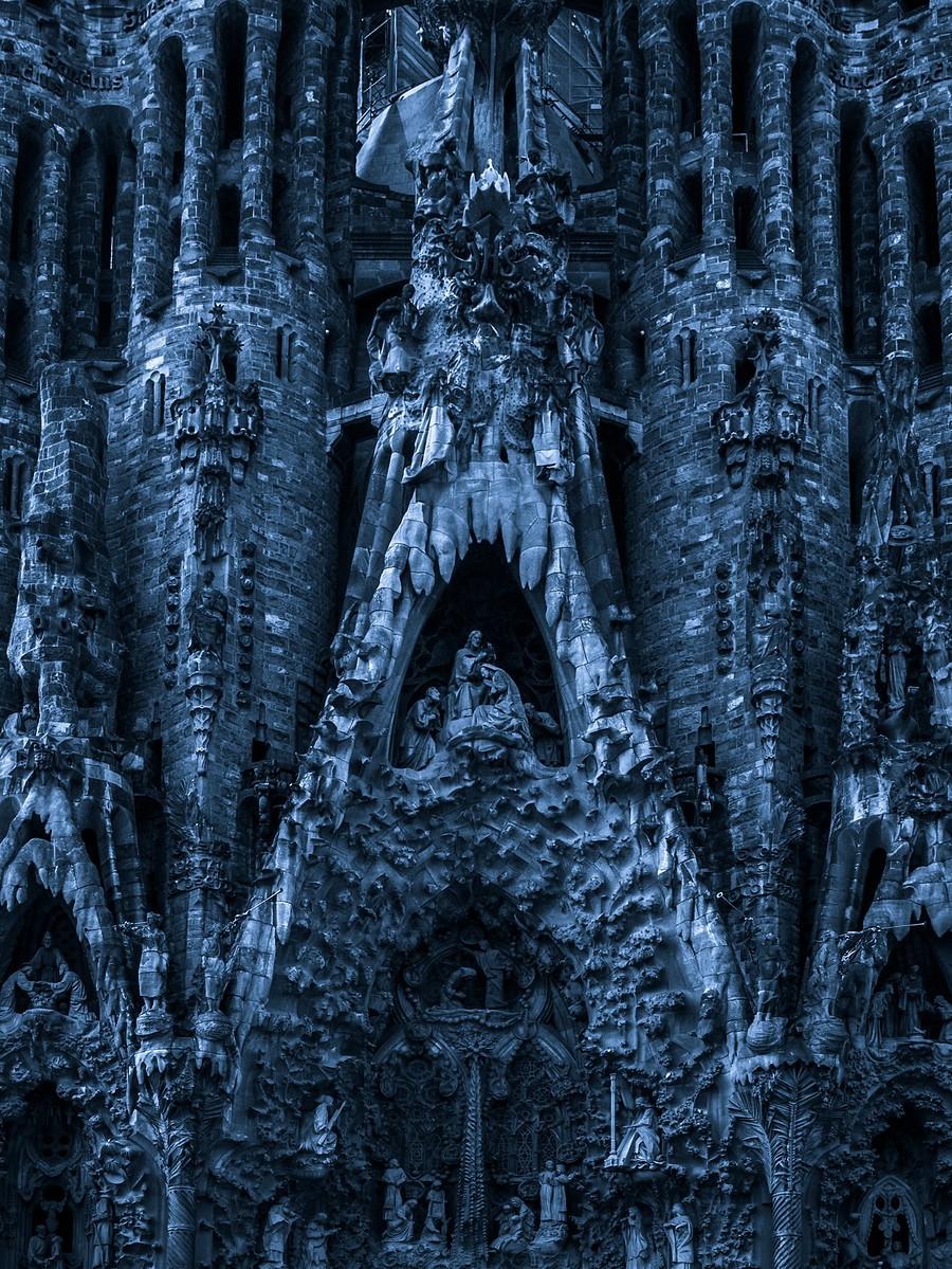 西班牙圣家堂(Sagrada Família), 创新无边界_图1-6