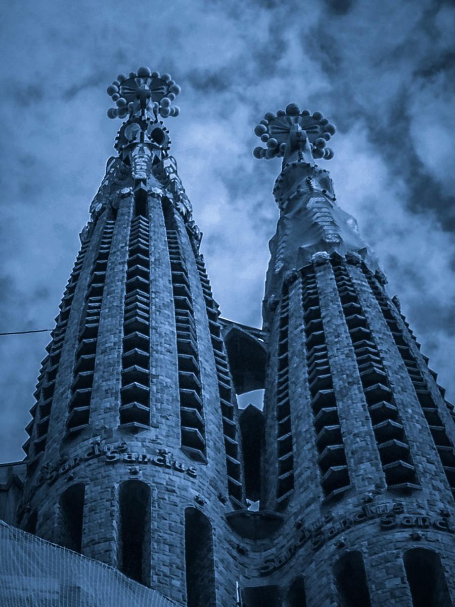 西班牙圣家堂(Sagrada Família), 创新无边界_图1-5