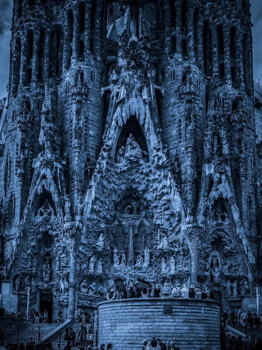 西班牙圣家堂(Sagrada Família), 创新无边界_图1-4