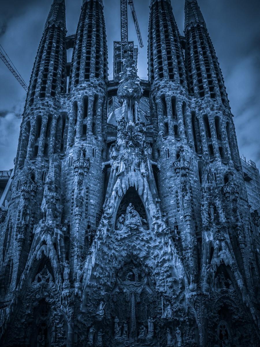 西班牙圣家堂(Sagrada Família), 创新无边界_图1-2