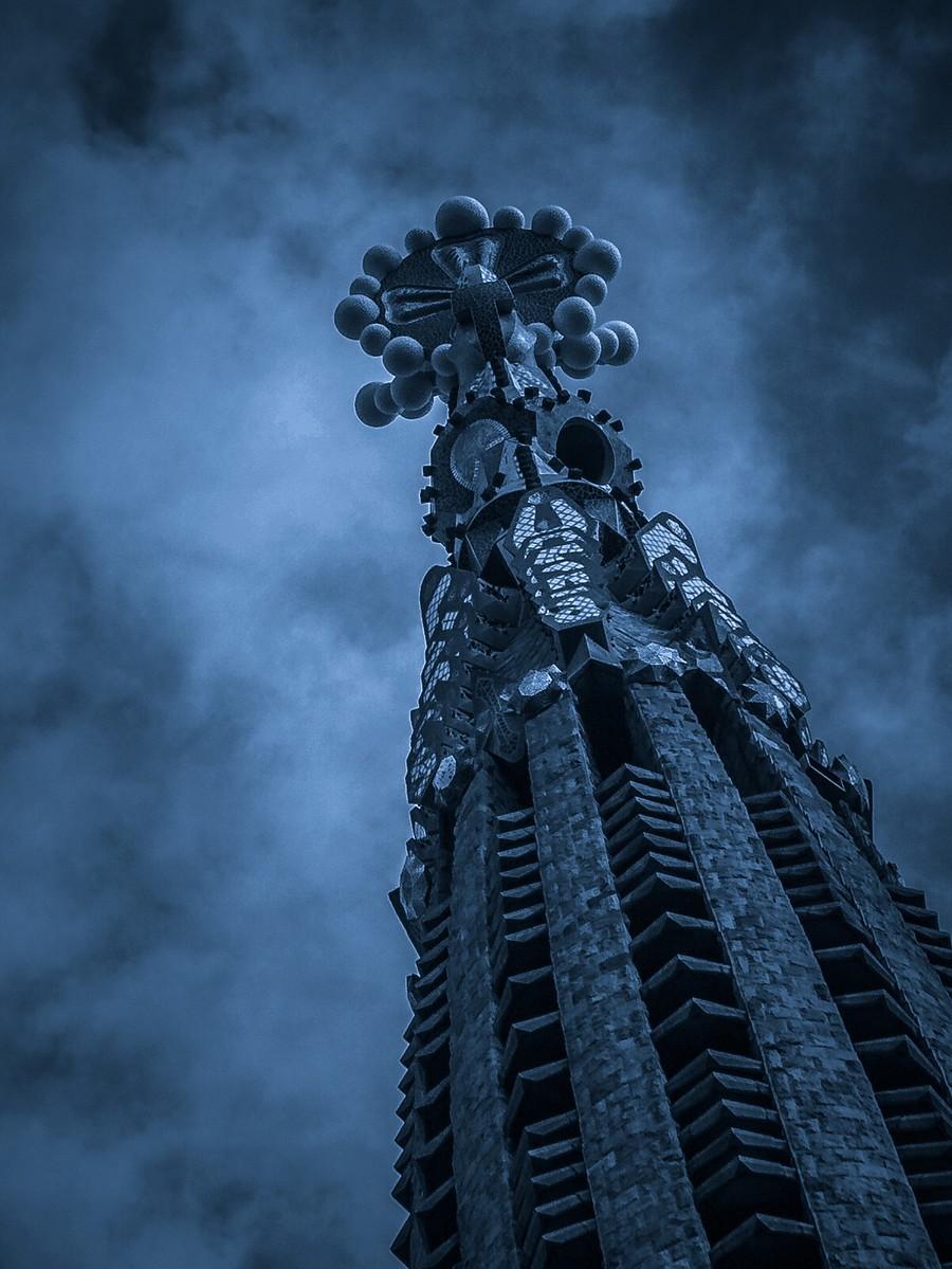 西班牙圣家堂(Sagrada Família), 创新无边界_图1-1