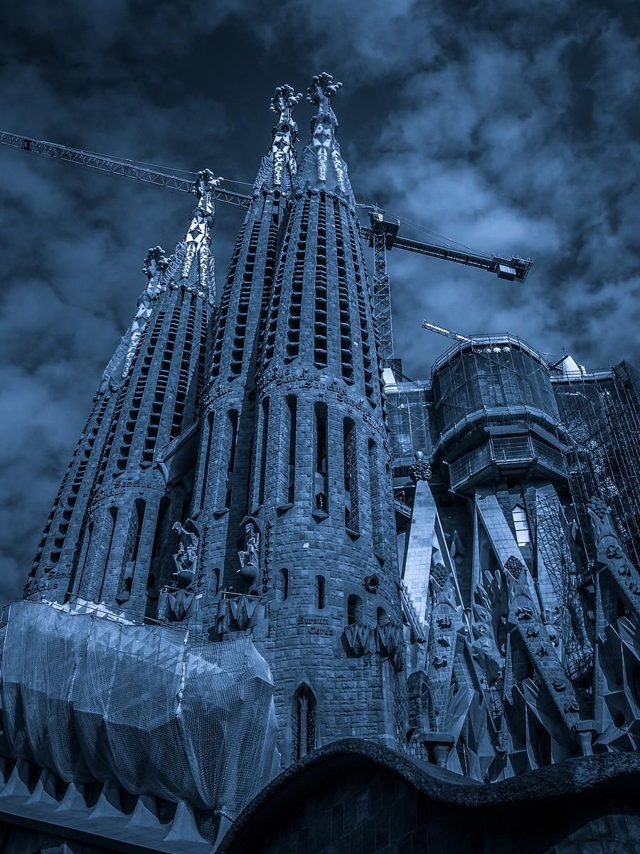 西班牙圣家堂(Sagrada Família), 创新无边界_图1-17