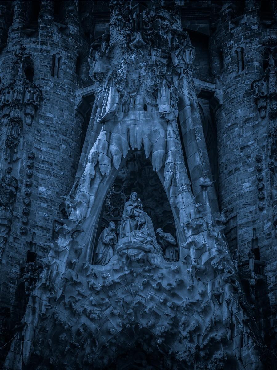 西班牙圣家堂(Sagrada Família), 创新无边界_图1-23