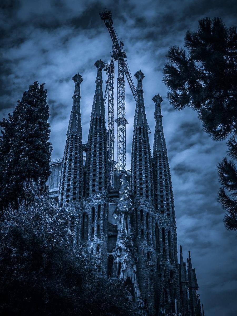 西班牙圣家堂(Sagrada Família), 创新无边界_图1-24