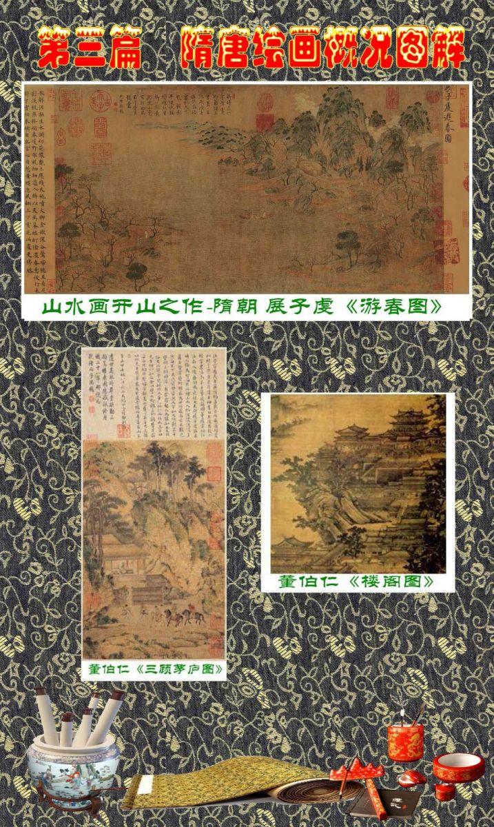 顾绍骅编辑 中国画知识普及版 第三篇  隋唐绘画概况_图1-1