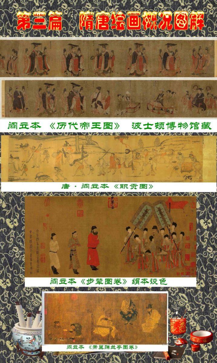 顾绍骅编辑 中国画知识普及版 第三篇  隋唐绘画概况_图1-2