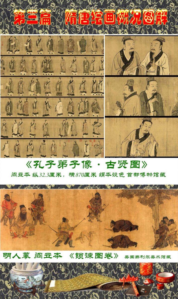 顾绍骅编辑 中国画知识普及版 第三篇  隋唐绘画概况_图1-3