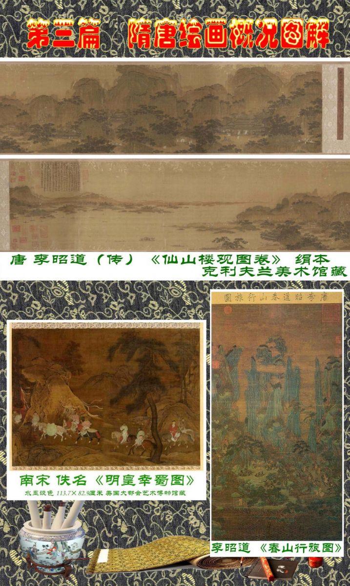 顾绍骅编辑 中国画知识普及版 第三篇  隋唐绘画概况_图1-6