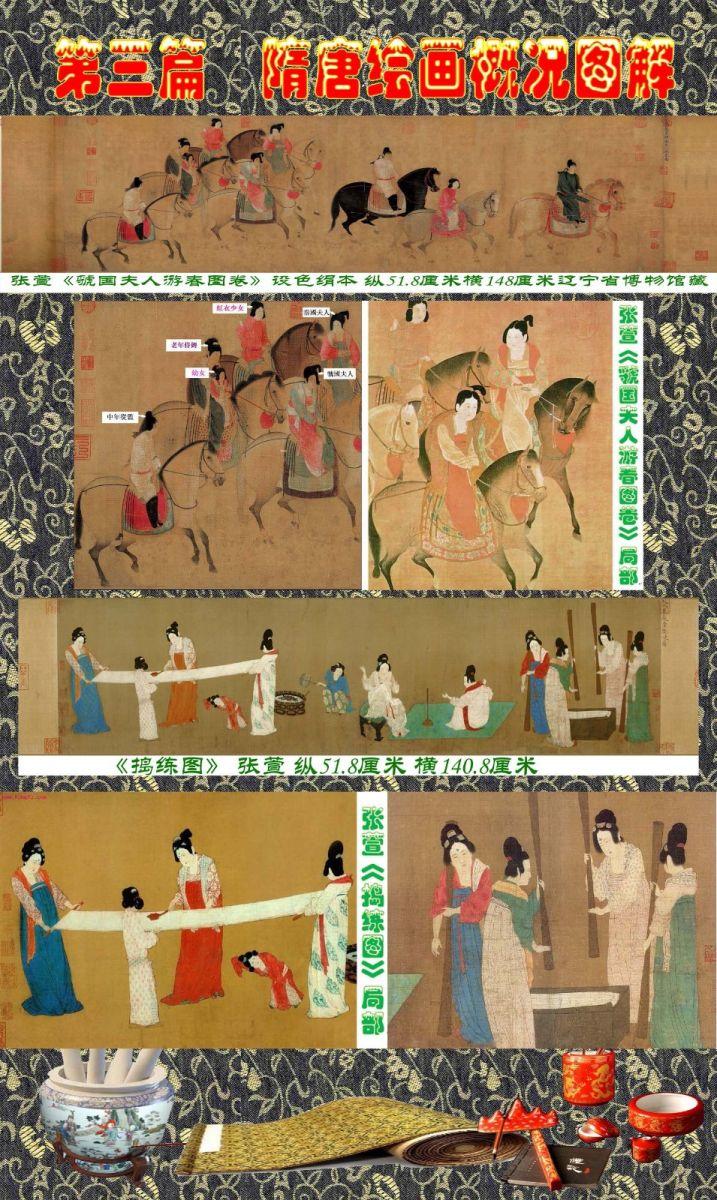 顾绍骅编辑 中国画知识普及版 第三篇  隋唐绘画概况_图1-9