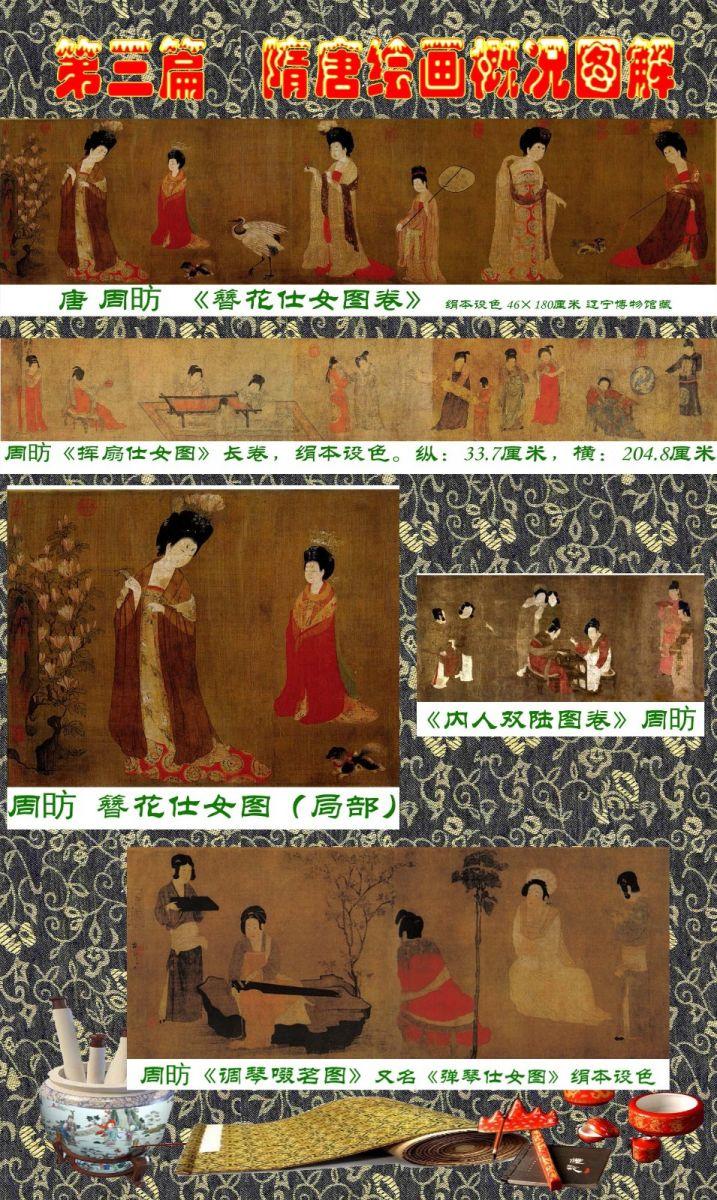 顾绍骅编辑 中国画知识普及版 第三篇  隋唐绘画概况_图1-10