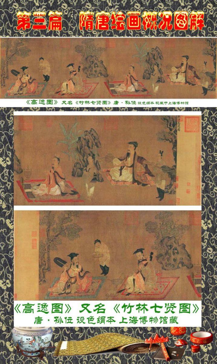 顾绍骅编辑 中国画知识普及版 第三篇  隋唐绘画概况_图1-22