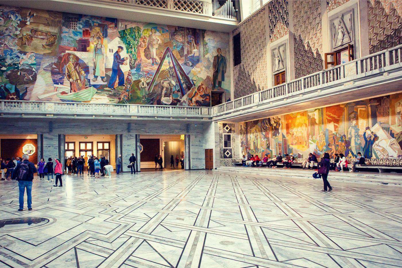挪威奥塞罗市政厅,有品位_图1-35