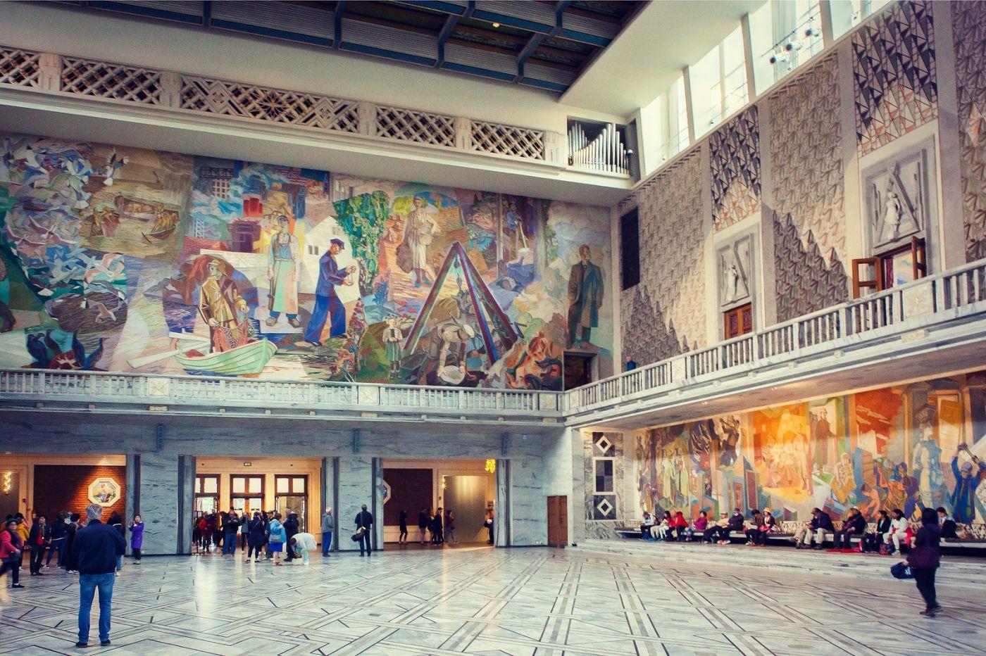 挪威奥塞罗市政厅,有品位_图1-21