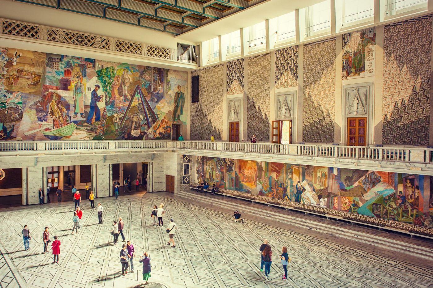 挪威奥塞罗市政厅,有品位_图1-14