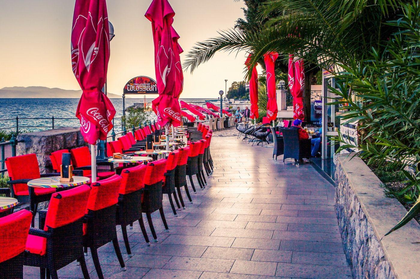 克罗地亚奥帕蒂亚(Opatija),洒满阳光的海滨城市_图1-7