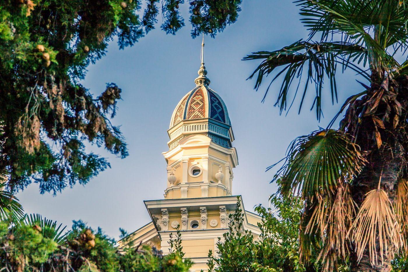 克罗地亚奥帕蒂亚(Opatija),洒满阳光的海滨城市_图1-2