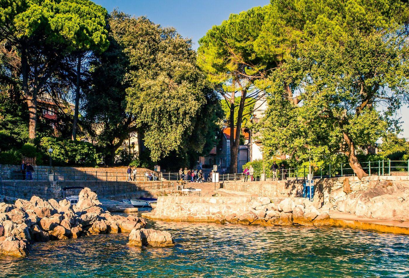 克罗地亚奥帕蒂亚(Opatija),洒满阳光的海滨城市_图1-9