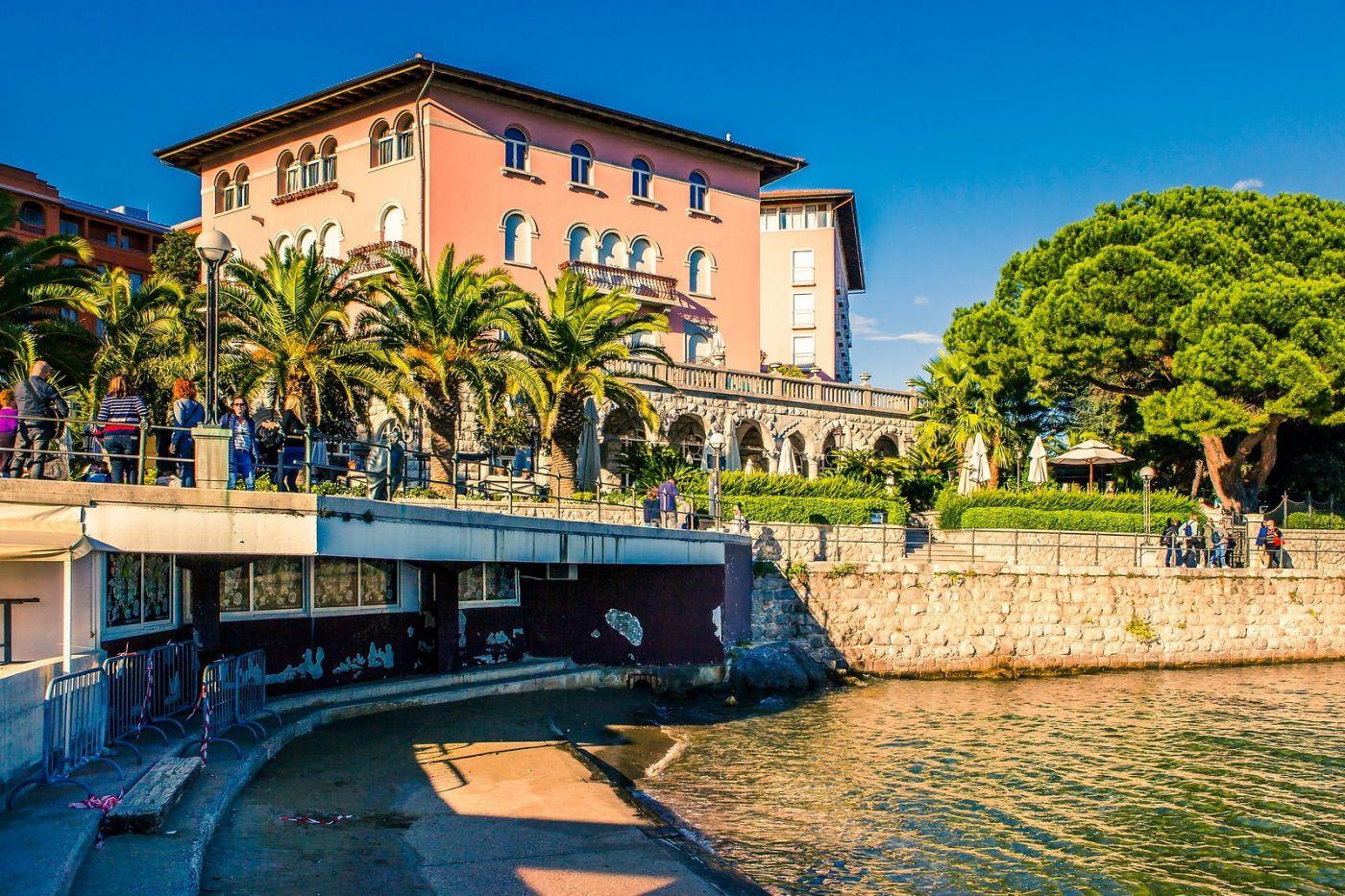 克罗地亚奥帕蒂亚(Opatija),洒满阳光的海滨城市_图1-12
