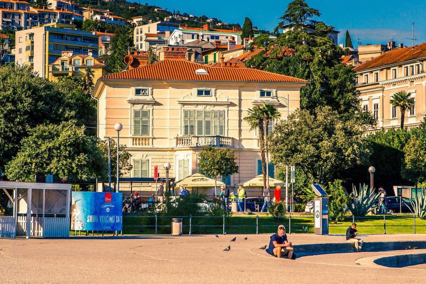 克罗地亚奥帕蒂亚(Opatija),洒满阳光的海滨城市_图1-18