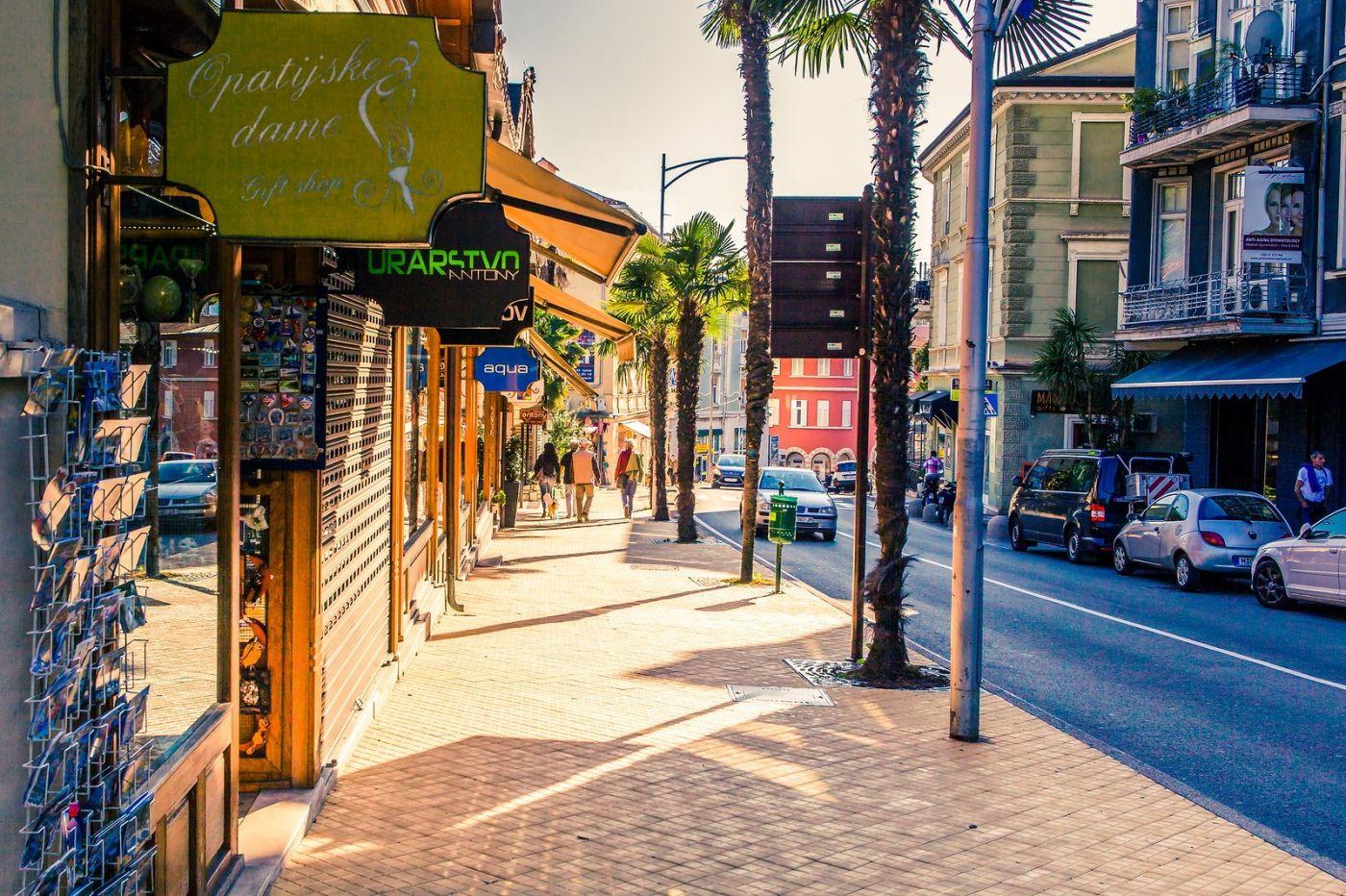 克罗地亚奥帕蒂亚(Opatija),洒满阳光的海滨城市_图1-21