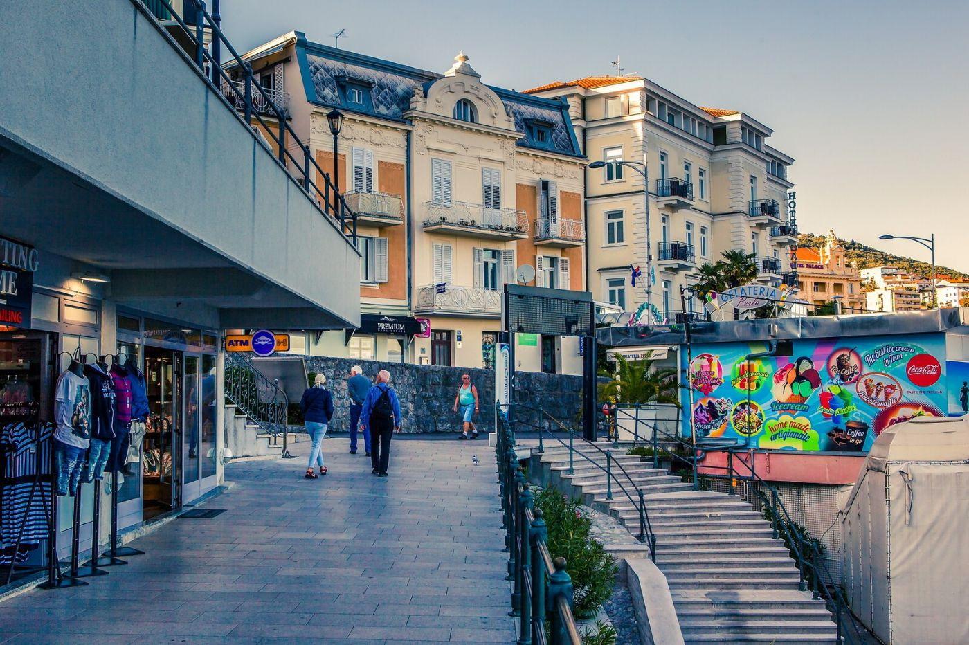 克罗地亚奥帕蒂亚(Opatija),洒满阳光的海滨城市_图1-25