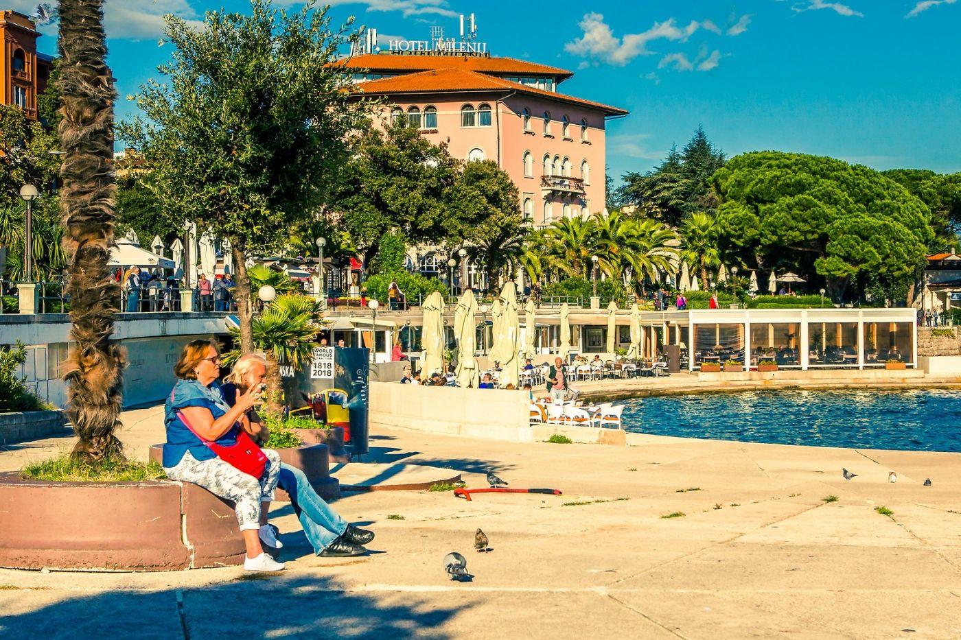 克罗地亚奥帕蒂亚(Opatija),洒满阳光的海滨城市_图1-26